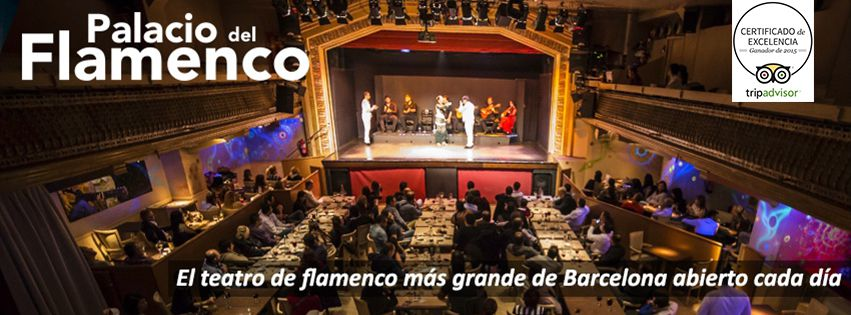 palacio del flamenco barcelona spain
